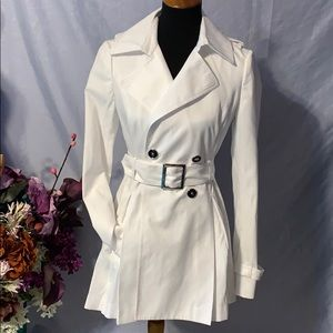 WHBM sample trench coat. XS